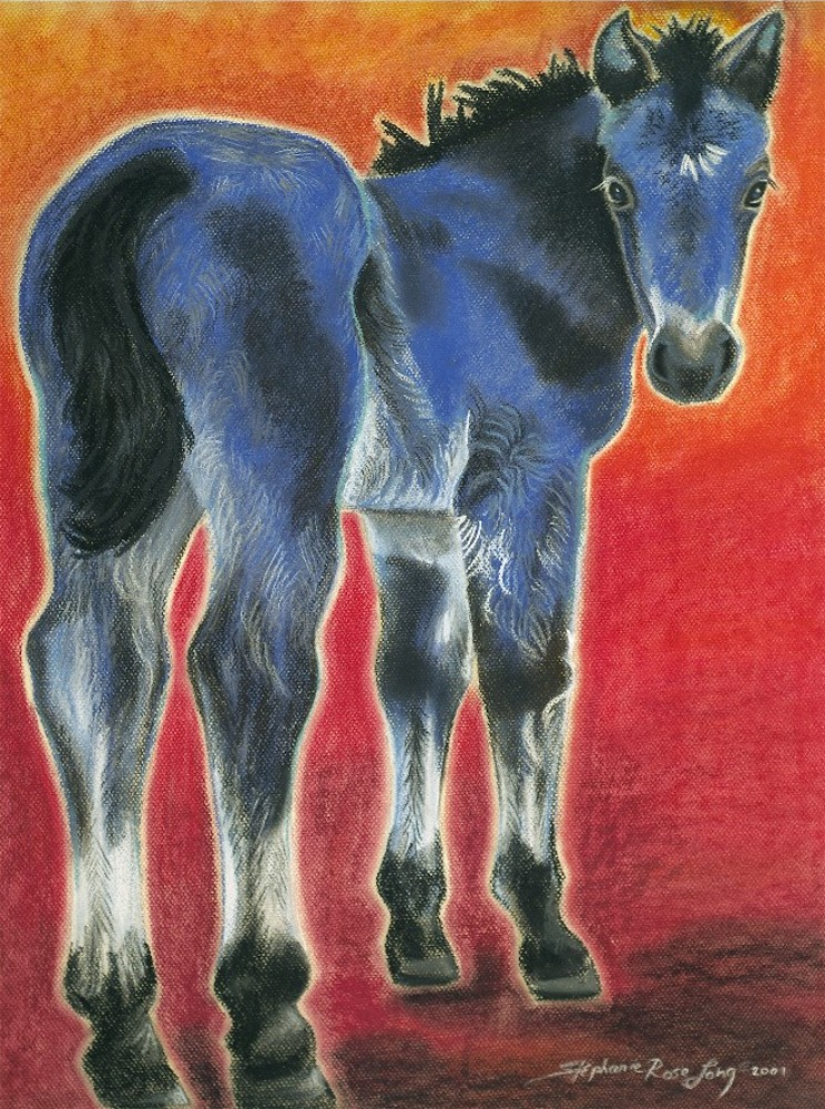 Western Art In Pastel And Pencil Original Art Of Horses Cows
